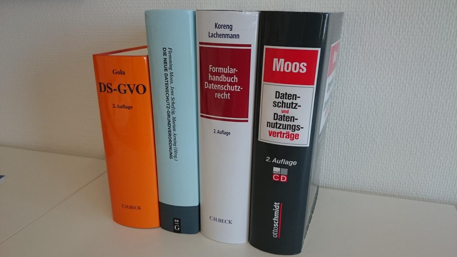 Externer Datenschutzbeauftragter Köln - Externer Datenschutzbeauftragter (TÜV) & Datenschutzauditor (TÜV), Datenschutz, Datenschutzbücher